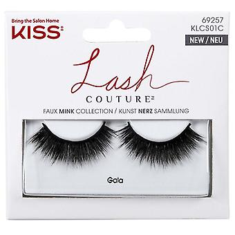 Kiss Lashes Faux Mink Strip Lashes Gala with Weightless Volume and Curl
