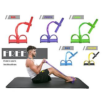 Rally Rope Fitness Rally Pedal Elastic Rope Multi-function Abdominal Cruncher