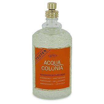 4711 Acqua Colonia Mandarine & Cardamom Eau De Cologne Spray (Unisex Tester) Por 4711 5.7 oz Eau De Cologne Spray