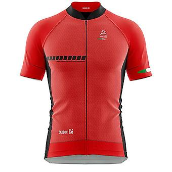 Vardena F1 Red Cycling Jersey