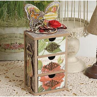 Diy Scrapbooking Šperky Vintage Mini Cabinet Nástroj