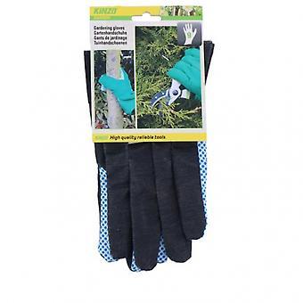 garden glove size 9 12x1x26cm blue