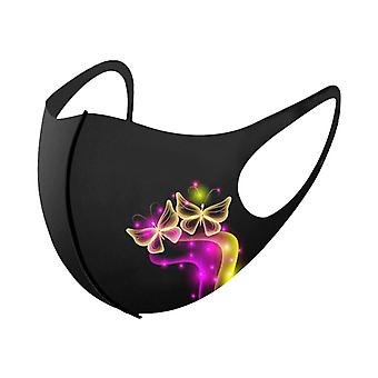Butterfly Print Mouth Mask Washable