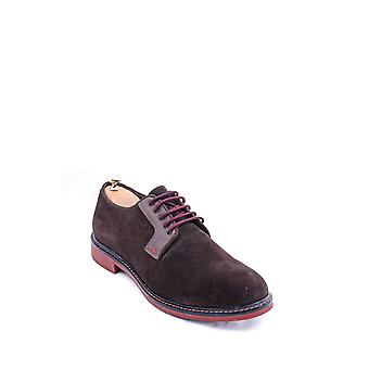 Suede casual brown shoes | wessi