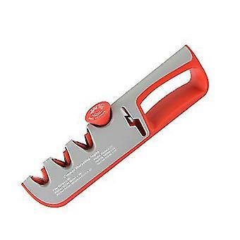 Gray professional kitchen sharpener 4 in 1 non slip base x2561