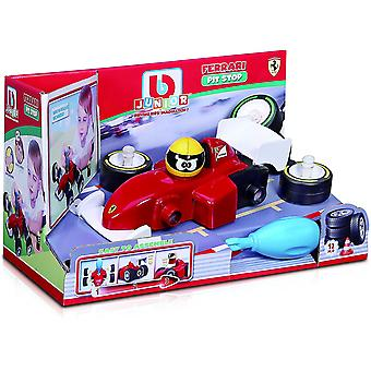 BB Junior Ferrari Pit Stop Toy Car