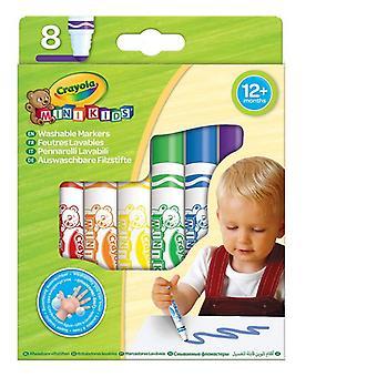 felt-tip pens Crayola Mini Kids (8 pcs)