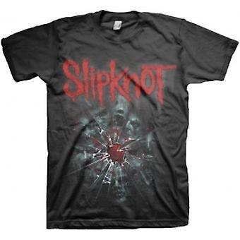 Slipknot Shattered Mens T-shirt noir Petit
