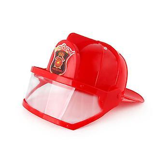 Capacete de Bombeiro Infantil, Chapéu de Bombeiro, Acessórios de Vestido, Halloween das Crianças