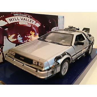 Back to the Future 2 Delorean 1:24 Scale Welly 22441W