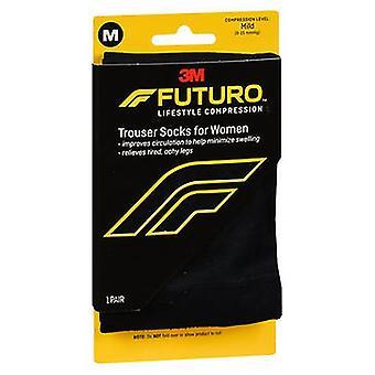 3M Futuro Lifestyle Compression Pantalons Chaussettes pour Femmes, 1 Chacun
