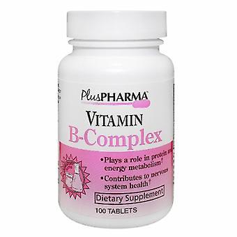 Plus Pharma Vitamin B Complex, 100 Tabs