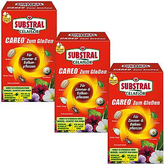 Sparset: 3 x SUBSTRAL® Celaflor® Careo for pouring, 100 ml