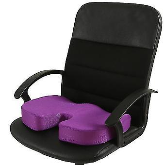 الذاكرة رغوة مقعد وسادة لمقاعد السيارات، وزارة الداخلية & وسادة السفر (بيربل)