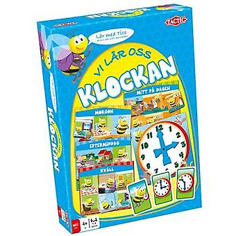 Games We learn the clock