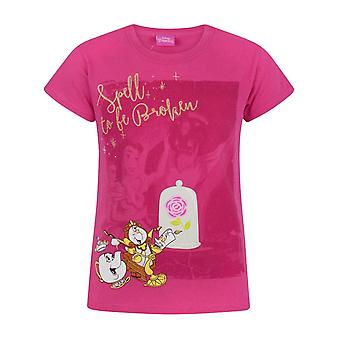 Beauty And The Beast Girls Spell To Be Broken T-Shirt