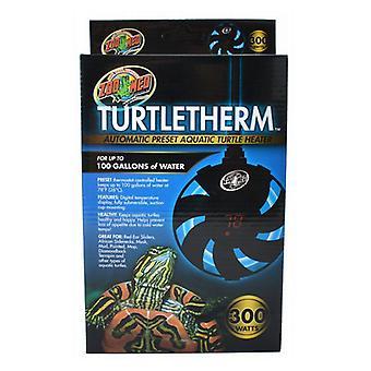 Zoo Med Turtletherm Chauffe-tortue aquatique préréglé automatique - 300 watts (jusqu'à 100 gallons)