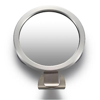 Bathroom Suction Cup Free Punching Anti-fog Mirror With Hook