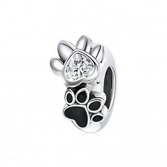 Sterling Silver Stopper Pet Paw - 7139