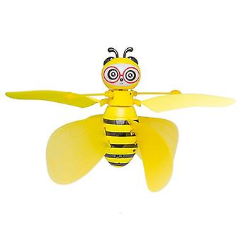 Lovely Little Bee Gesture Induction Aircraft Easy To Operate Stable Flight Cool Light Anti Crash