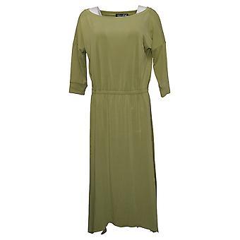 Brittany Humble Dress B.E. Ready Dolman Sleeve Midi Dress Green 753827