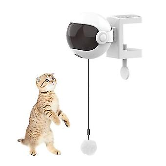 Cat toys electric cat toy interactive toy for cat cat game yo yo lifting ball electric toy pet white