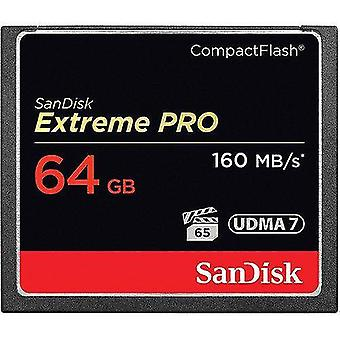 Memory card readers 64gb extreme pro compactflash memory sdcfxps-064g-a46