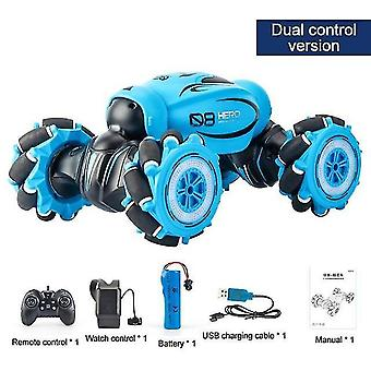Toy cars 1:16 4wd radio gesture induction music light remote control twist high speed rc car stunt off road
