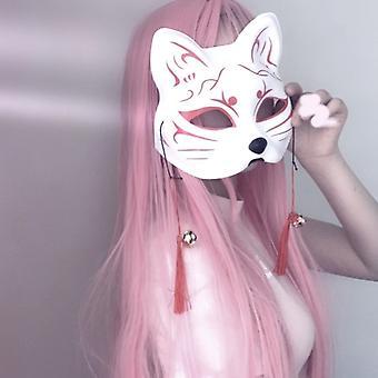 日本のレトロなフォックスマスクフェティッシュヘッドマスクBdsmボンデージ拘束キャットウーマンバニー仮面舞踏マスクアニメセクシーコスプレフォト小道具
