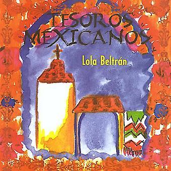 Lola Beltran - Tesoros Mexicanos [CD] USA import