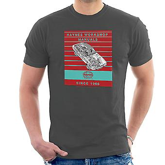 Haynes Workshop Manual 0375 Ford Capri II V6 Stripe Men's T-Shirt