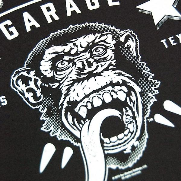 Gaz singe Garage gaz Mens singe Garage GMG sang sueur & bières T Shirt noir