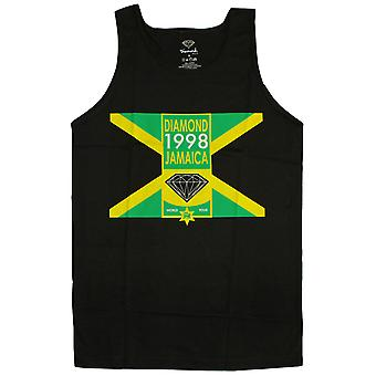 Diamond Supply Co Jamaica Tank Top Black