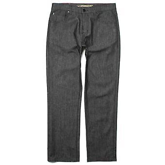 Lrg True Straight Denim Jeans Raw Black