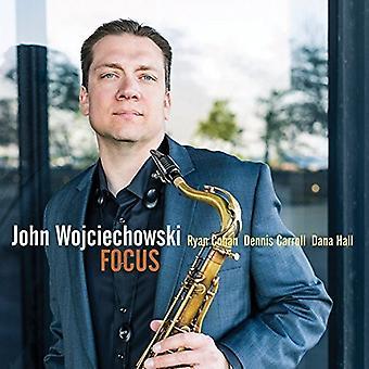 John Wojciechowski - Focus [CD] USA import