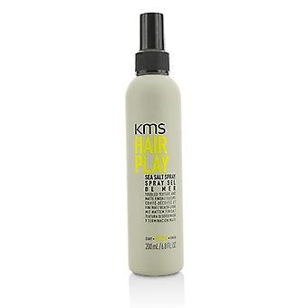 Kms California Hair Play Sea Salt Spray (tousled Texture And Matte Finish) - 200ml/6.8oz
