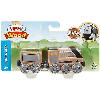 Thomas y amigos FHM42 Spencer motor Playset de madera