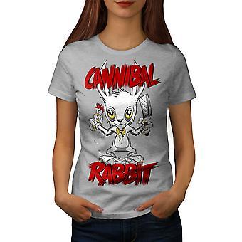 Cannibal Women GreyT-shirt | Wellcoda