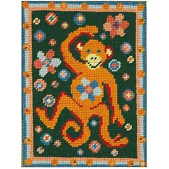 Martha's Monkey Needlepoint Kit