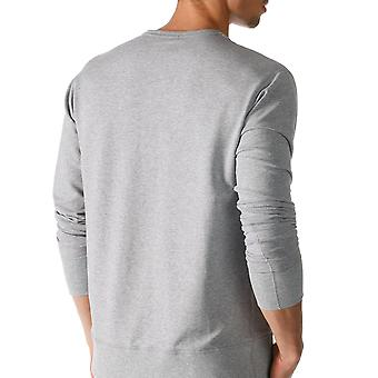 Mey 23540-620 maschile godono grigio tinta unita pigiama pigiama