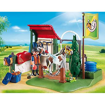 Station de toilettage cheval Playmobil pays