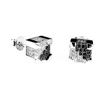 925 sølv MICRO bane øreringe - IMPERIAL 7 split mm