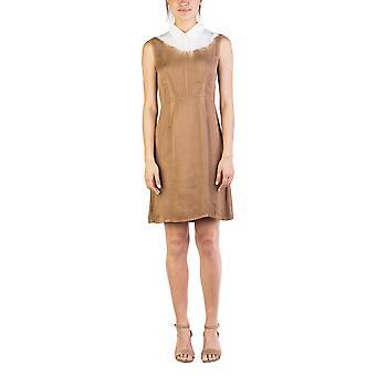 Miu Miu Women's Viscose Dress Two Tone