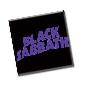 Black Sabbath Fridge Magnet Wavy band Logo new Official 76mm x 76mm