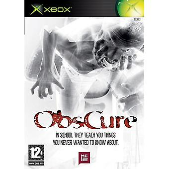 Obscure (Xbox) - New