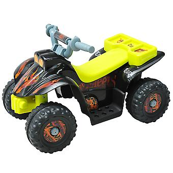 HOMCOM Kids Electric Ride-on Car Motor Bike Off Road Style Battery Operated Black
