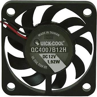 QuickCool QC4007B12H Eksenel fan 12 V DC 10,82 m³/h (L x W x H) 40 x 40 x 7 mm