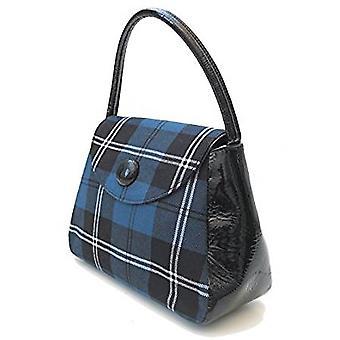 Harris Tweed or Tartan Handbag S (Ramsay Blue)