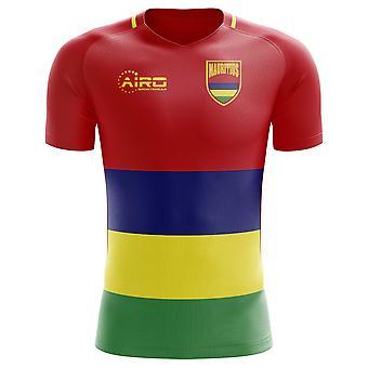 2020-2021 モーリシャスホームコンセプトフットボールシャツ