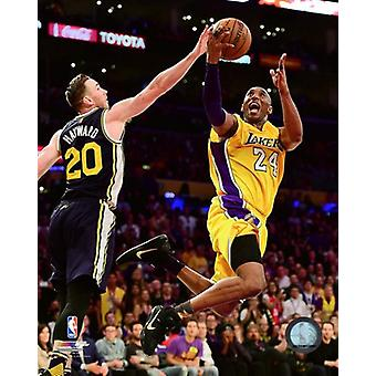Kobe Bryant juega su final NBA juego-Staples Center Abril 13 2016 foto impresión (8 x 10)